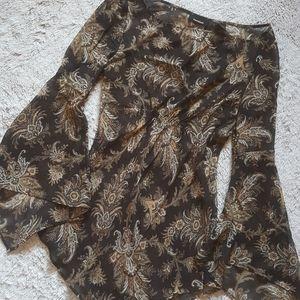 Express wide sleeve long shirt Size 3/4